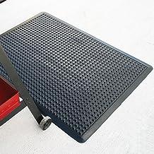 Solid Black Rhino Mats UDR310 Tritan Ultra-Dome Rolls Anti-Fatigue Welding Mat 3 Width x 10 Length x 5//8 Thickness
