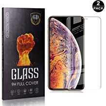 UNEXTATI 2 Pack Screen Protector for Sony Xperia XZ1 Tempered Glass Film 9h HD Case Friendly Ultra Strong Premium Accessories Shatterproof Protectors 3D Touch Compatible