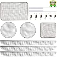 Heavy Stainless Steel Mesh Flying Insect Screen with Installation Tool 7 Packs) RV Furnaces Bug Screen 8.1 x 1.5 /& 2.8 x 1.3 /& 8.5 x 6 x 1.3 /& 4.5 x 4.5 x 1.3 RV Heater Vent Screen