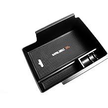 Vesul Armrest Secondary Storage Box Glove Pallet Center Console Tray Divider for Mazda CX-5 CX5 2017 2018