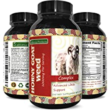 e807264343c73 Horny Goat Weed Extract Pills for Men and Women Boost Drive and Energy with  Natural Maca and Tongkat Ali Supplement Pure Epimedium Capsules for .