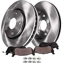 Front Rear Brake Rotors Ceramic Pads For 00-05 Chevy Impala 00-04 Monte Carlo