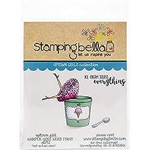 Stamping Bella EB809 Cling Stamps-Oddball Sloth