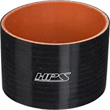 80 PSI Maximum Pressure Black 2  2-3//4 ID 3 Length HPS HTSR-200-275-BLK Silicone High Temperature 4-ply Reinforced Reducer Coupler Hose
