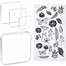 SUPVOX Clear Alphabet Stamp Silicone Seal Stamps for DIY Scrapbooking Craft Decor