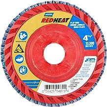 United Abrasives SAITlam UK Fiberglass Backing Sanding Disc 10-Pack SAIT 73717 7-Inch 80 Grit Zirconium United Abrasives