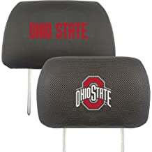 10x13 FANMATS 12589 NCAA Ohio State University Buckeyes Polyester Head Rest Cover