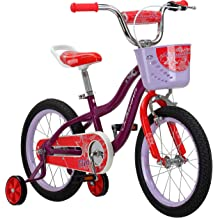 d5cf2690c4c Schwinn Elm Girl's Bike, Featuring SmartStart Frame to Fit Your Child's  Proportions, Some Sizes Include Training Wheels and Saddle .