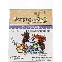Stamping Bella EB814 Cling Stamps-Playing Jacks