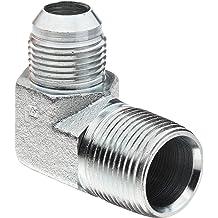 Stainless Steel JIC Tube Fitting 04MJ-04FJS 90 Degree Elbow Brennan 6500-04-04-SS 1//4 Tube OD