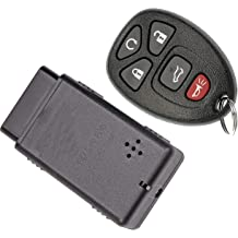 APDTY 00260 Replacement Keyless Entry Remote Key Fob Transmitter w//Auto Programming Tool Fits Select Nissan or Infiniti Models View Compatibility Chart To Verify Your Specific Model