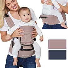 for Infant Newborn Child Breathable /& Adjustable Toddler Neotech Care Baby Wrap Carrier Cotton Blue