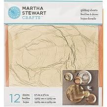33320 Stripe Martha Stewart Crafts Decoupage Gilding Sheets