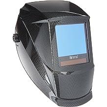 698afd3a5f262 Antra AH7-860-001X Solar Power Auto Darkening Welding Helmet AntFi X60-8  Jumbo Viewing Size 3.78