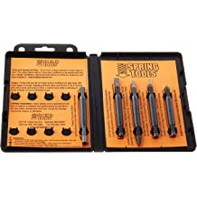 Stamping Set with 1//4 Stamps Spring Tools HDIDS609 Hammerless Heavy Duty Professional Grade Mechanics I.D 39 Piece