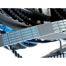3//8 Width Gates 176XL037 PowerGrip Timing Belt Extra Light 1//5 Pitch 17.60 Pitch Length 88 Teeth