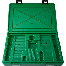 Green SK Hand Tool ABOX-89009 Blow-molded replacement case for 89009 1//4 Drive Socket Set