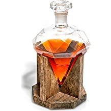 USMC Gifts for Men /& Women Prestige Decanters Marine Corps Gifts USMC Eagle Globe and Anchor 1000ml Decanter, Military Gift Marine Graduation Gifts /& Veteran Gifts US Marines EGA Decor Globe Whiskey Decanter