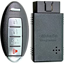 APDTY 133886 Keyless Entry Remote Key Fob Transmitter Fits Select 2001-2004 Chrysler Dodge Replaces 4602260AD Jeep Vehicles; See Description For Details