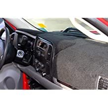 Fcovergurus Dash Cover Mat for 2007-2014 GMC Yukon,2007-2013 Chevy Chevrolet Silverado 1500 LTZ//Avalanche//Suburban,07-14 Tahoe Dashboard Cover Pad Protector w//o Dash Speaker Black F01