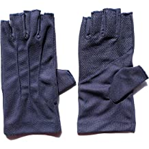 LBYMYB Outdoor Gloves Men Winter Touch Screen Waterproof Plus Velvet Slip Riding Mens Windproof All Refers to Thick Warm Gloves Black Glove Size : S