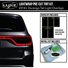 "Luxe LightWrap Dark Honeycomb Universal Headlight Tail Light Tint Kit 20/"" x 2 Yard"