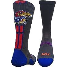 TCK Kansas Jayhawks Socks Baseline 3.0 Crew