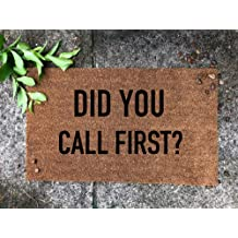 did you call first door mats